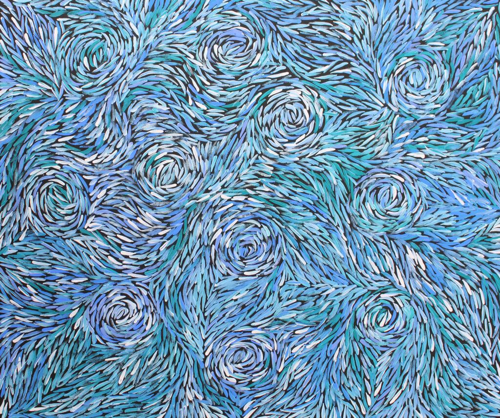 Bush Medicine Leaves by Jeannie Petyarre