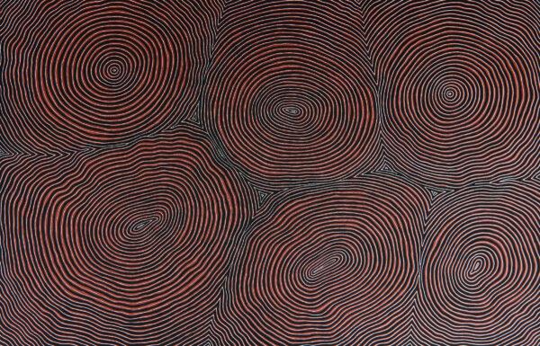 Painting by Raymond Walters Japanangka