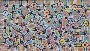 Painting by Lynette Nangala Singleton