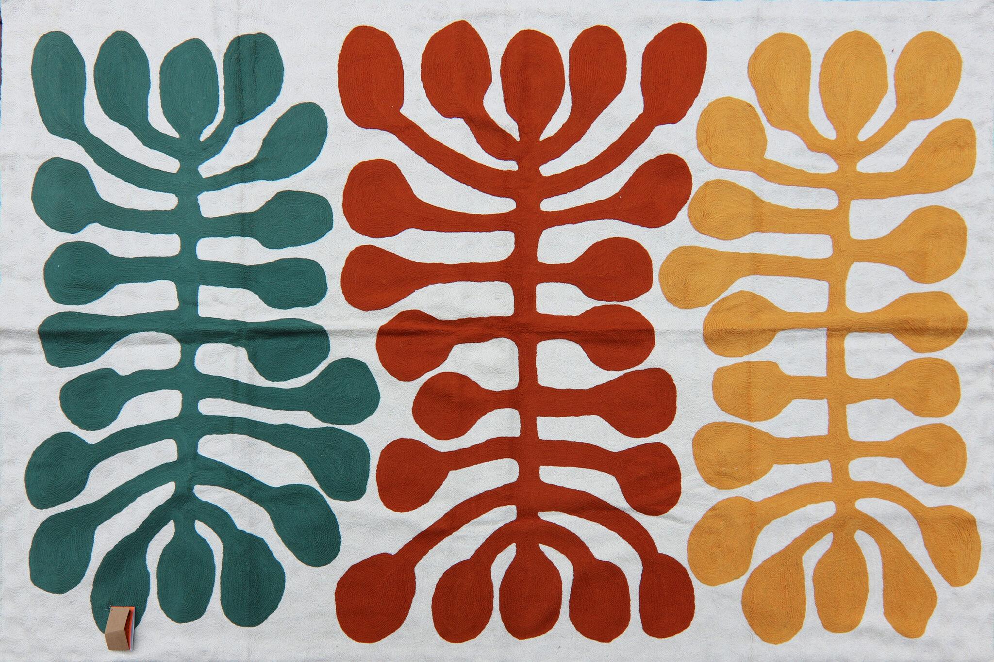 Wool rug by Mitjili Napurrurla
