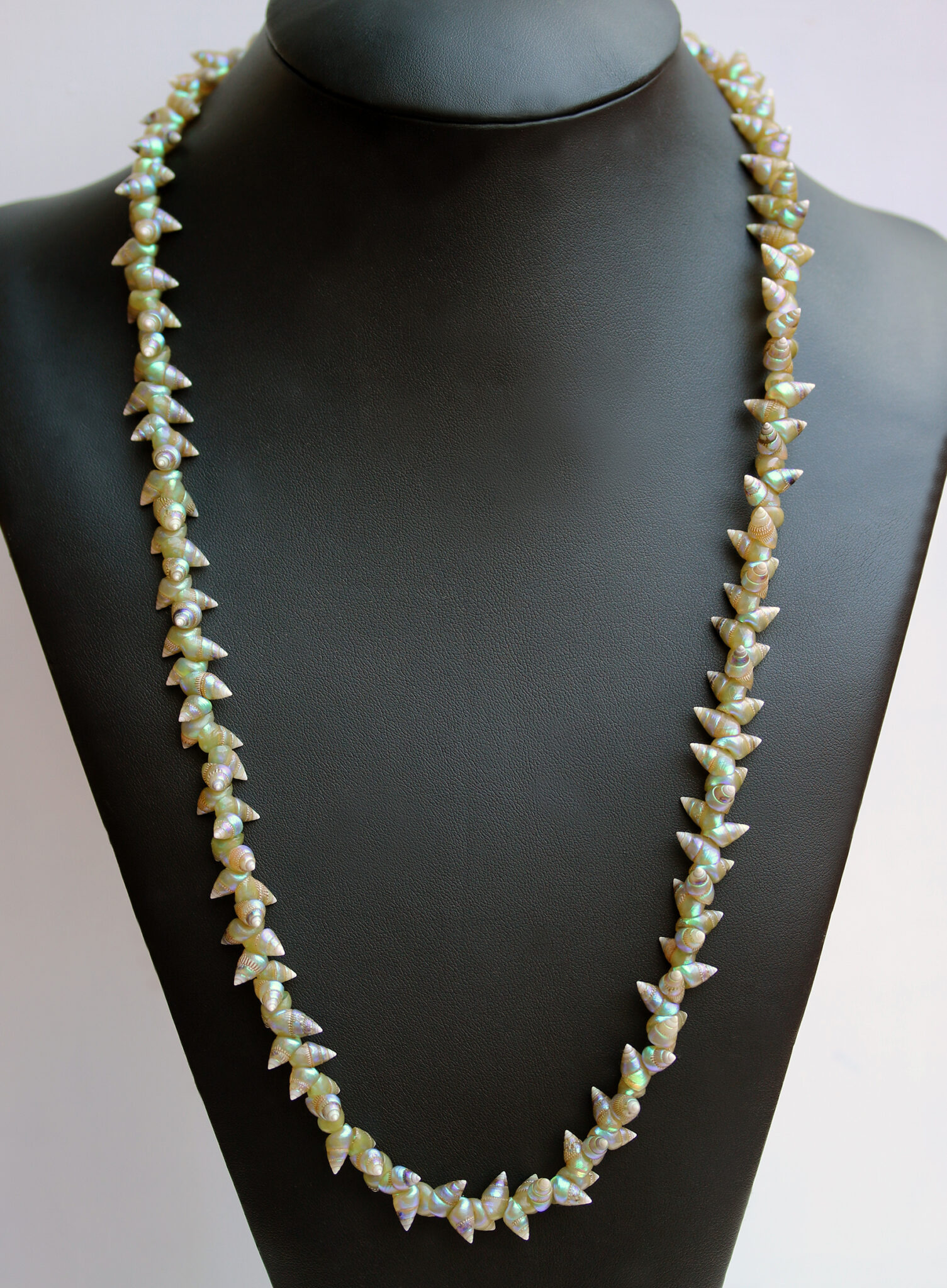 Green Maireener Shell Necklace