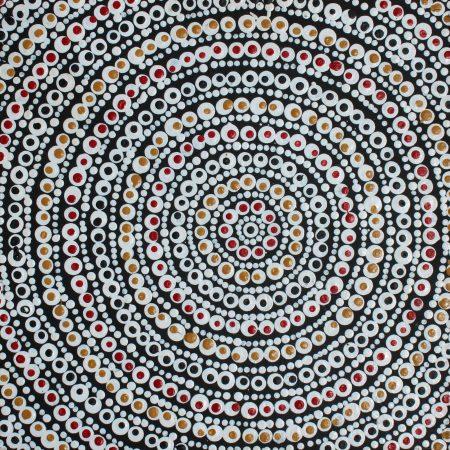Pikilyi Jukurrpa (Vaughan Springs Dreaming) by Delena Napaljarri Turner