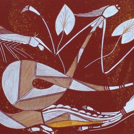 Kulabbarl (Billabong) by William Manakgu